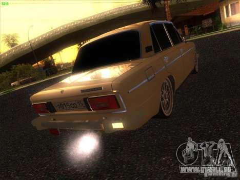 VAZ 2106 Tuning Light pour GTA San Andreas vue de droite