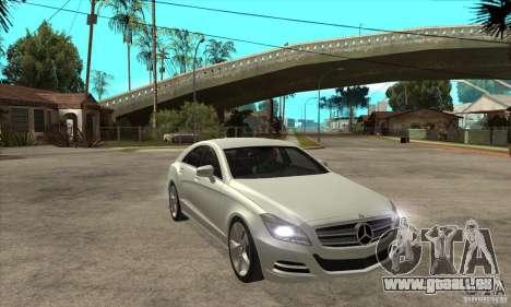 Mercedes-Benz CLS 350 2011 pour GTA San Andreas vue arrière
