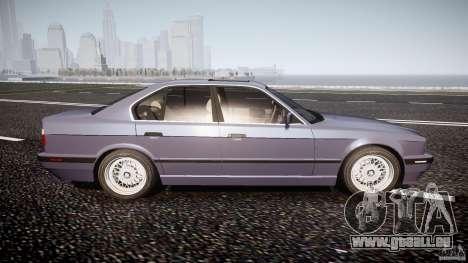 BMW 5 Series E34 540i 1994 v3.0 pour GTA 4 est un côté