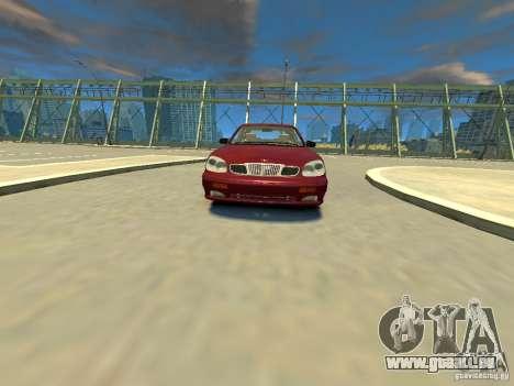 Daewoo Leganza CDX pour GTA 4 est un droit
