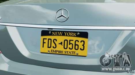 Mercedes-Benz S65 AMG 2012 v1.0 pour GTA 4 roues