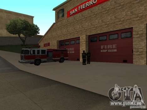 Lebendige Firehouse in SF für GTA San Andreas zweiten Screenshot