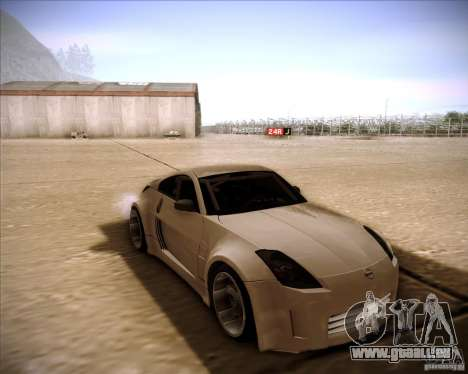 Nissan 350Z AdHoc für GTA San Andreas