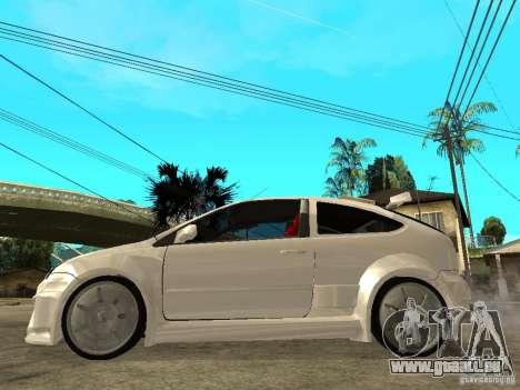 Ford Focus Tuned pour GTA San Andreas laissé vue