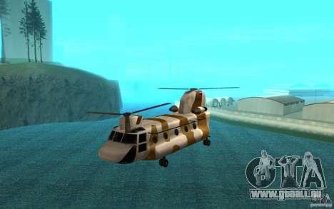 GTA SA Chinook Mod pour GTA San Andreas