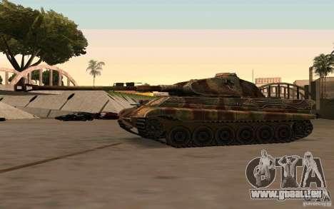 Pzkpfw VII Tiger II für GTA San Andreas
