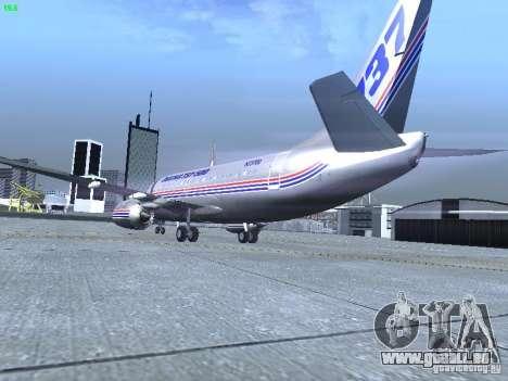 Boeing 737-500 für GTA San Andreas rechten Ansicht