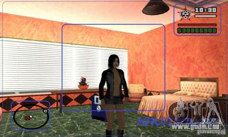 New Ofyst pour GTA San Andreas deuxième écran