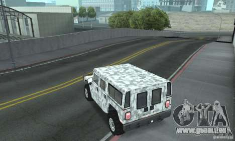 Hummer H1 für GTA San Andreas Innen