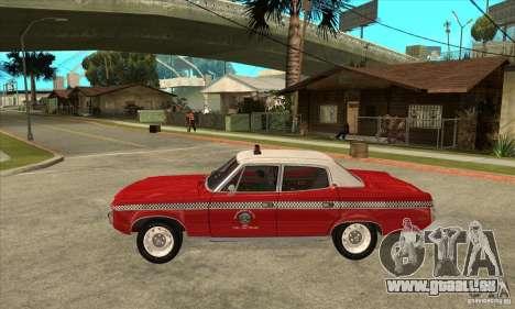 AMC Matador Taxi für GTA San Andreas linke Ansicht