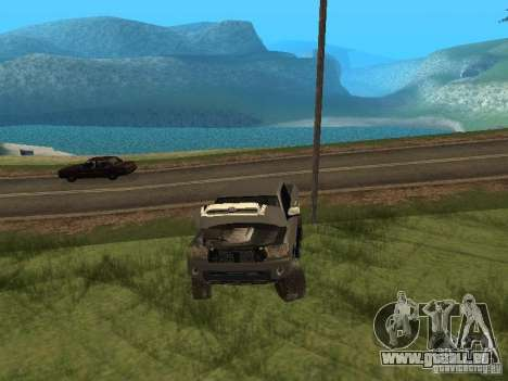Toyota Tacoma 2011 für GTA San Andreas Seitenansicht