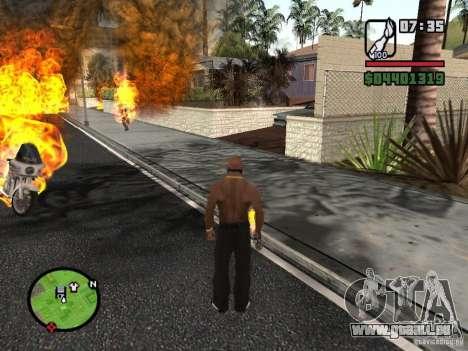 Molotov-Cosaques pour GTA San Andreas troisième écran