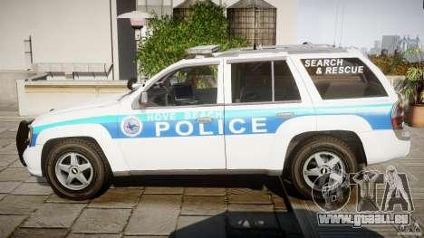 Chevrolet Trailblazer Police V1.5PD [ELS] für GTA 4 linke Ansicht