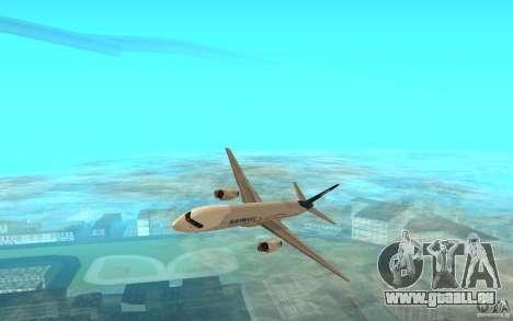 Boeing 757-200 für GTA San Andreas linke Ansicht