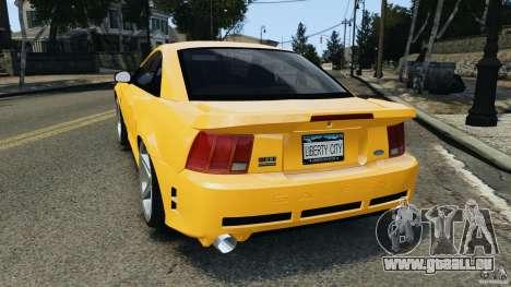 Saleen S281 2000 pour GTA 4 Vue arrière de la gauche