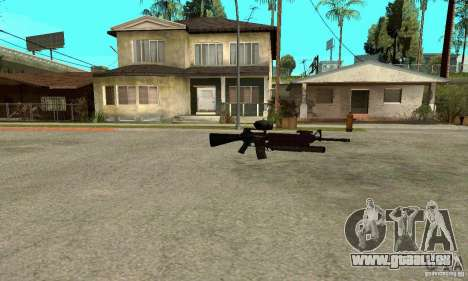 M16A4 + M203 für GTA San Andreas dritten Screenshot
