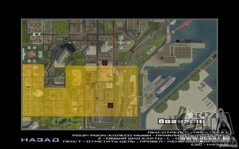 Tours jumelles pour GTA San Andreas deuxième écran