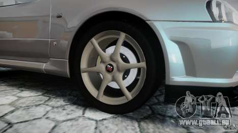 Nissan Skyline GT-R R34 2002 v1 pour GTA 4 vue de dessus