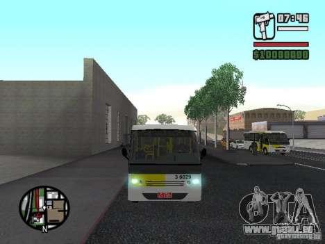 Induscar Caio Piccolo pour GTA San Andreas vue intérieure