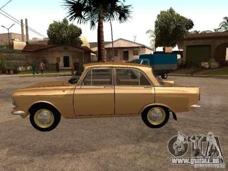 Moskvitch 408 Elite pour GTA San Andreas laissé vue