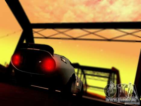 Shelby Cobra Daytona Coupe v 1.0 pour GTA San Andreas vue intérieure