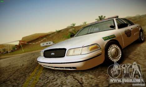 Ford Crown Victoria Missouri Police pour GTA San Andreas