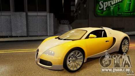 Bugatti Veyron 16.4 v1.0 wheel 2 pour GTA 4 est un côté