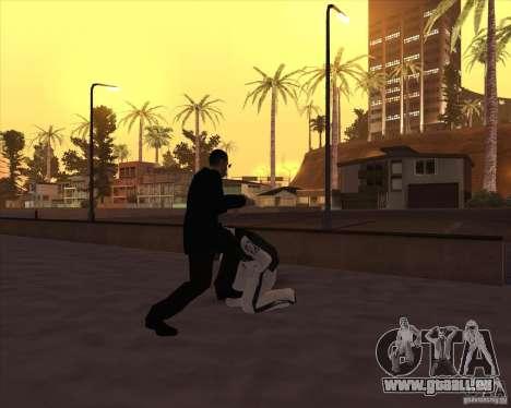 Kick in the balls für GTA San Andreas her Screenshot