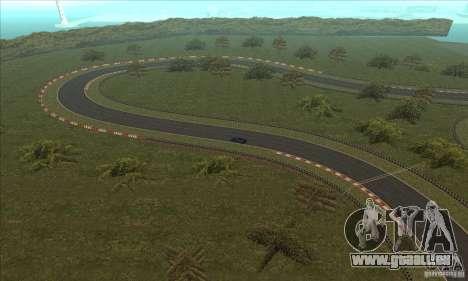 Piste GOKART Route 2 pour GTA San Andreas onzième écran