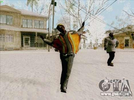 Harlem Shake pour GTA San Andreas troisième écran