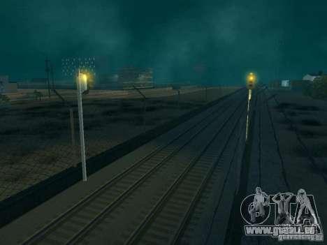 Feux de signalisation ferroviaire pour GTA San Andreas troisième écran