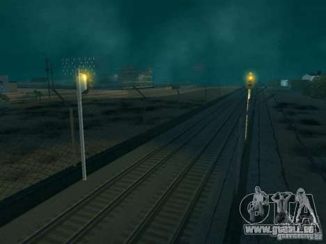 Eisenbahn-Ampel für GTA San Andreas dritten Screenshot