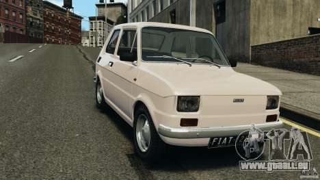 Fiat 126 Classic pour GTA 4