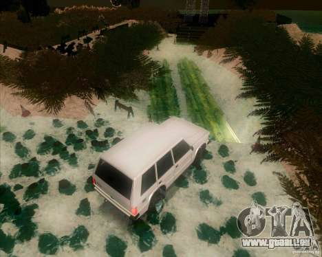 Off-Road Track pour GTA San Andreas