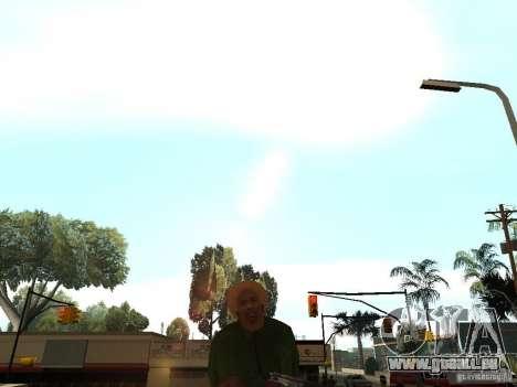 Act Dead für GTA San Andreas dritten Screenshot