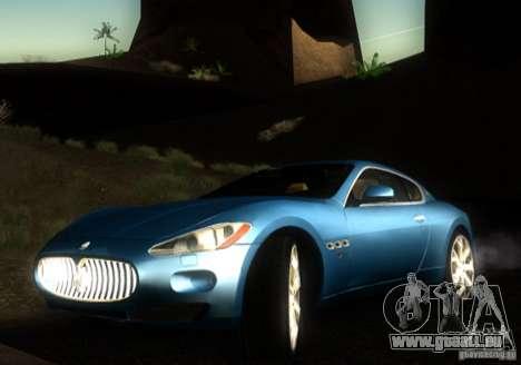 Maserati Gran Turismo für GTA San Andreas