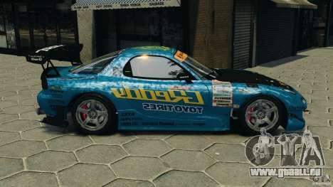 Mazda RX-7 RE-Amemiya pour GTA 4 est une gauche