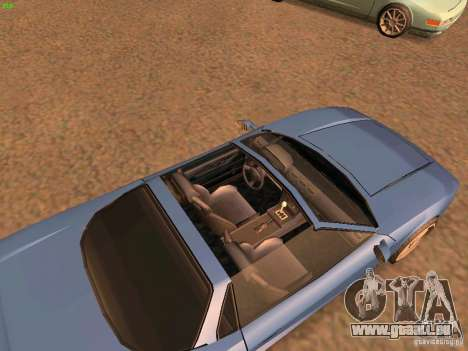 Infernus Revolution für GTA San Andreas linke Ansicht
