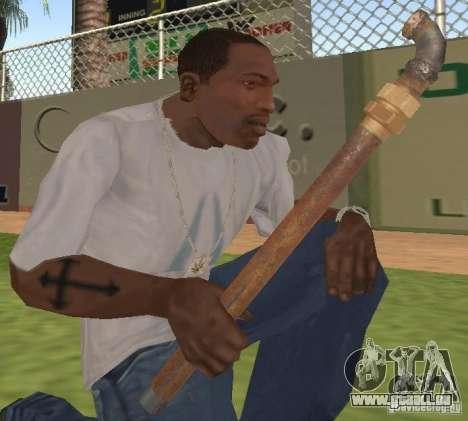 Trompette pour GTA San Andreas deuxième écran