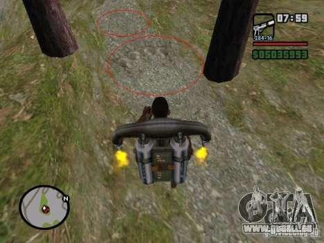 Jetpack spawner pour GTA San Andreas