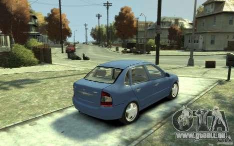 Lada VAZ 1118 Kalin für GTA 4 rechte Ansicht
