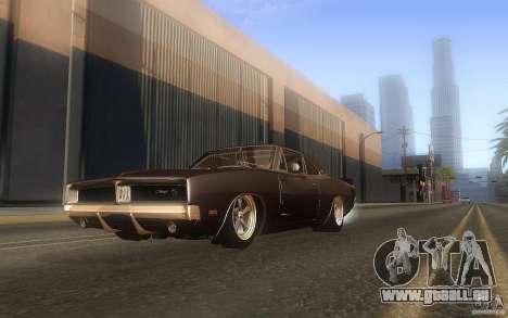 Dodge Charger RT 69 pour GTA San Andreas vue de côté