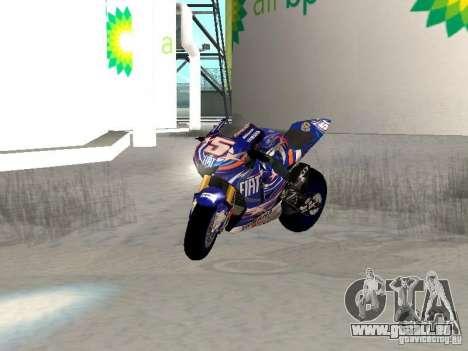 New NRG-500 für GTA San Andreas obere Ansicht