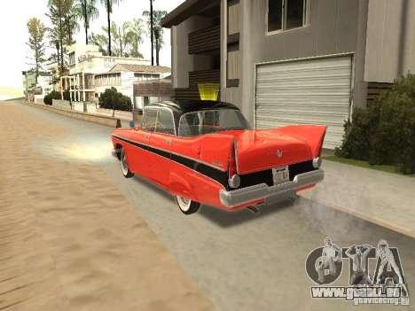 Plymouth Belvedere Sport sedan pour GTA San Andreas laissé vue
