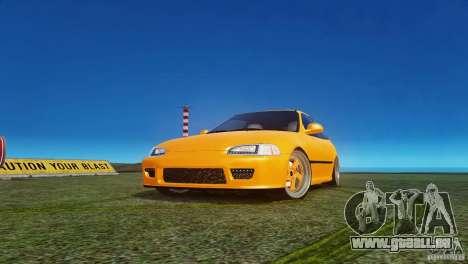 Honda Civic Tuned für GTA 4