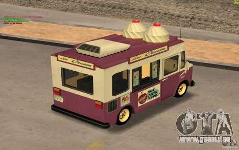 Chevrolet Forvard Control 20 Ice Cream für GTA San Andreas rechten Ansicht
