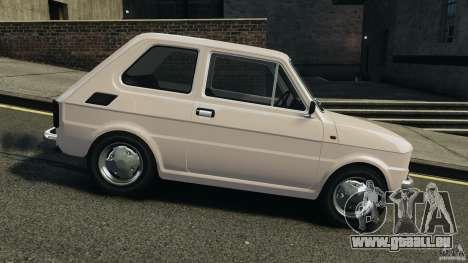 Fiat 126 Classic pour GTA 4 est une gauche