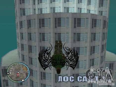 Flügel-Wings für GTA San Andreas dritten Screenshot