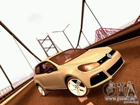 Volkswagen Golf R 2010 pour GTA San Andreas