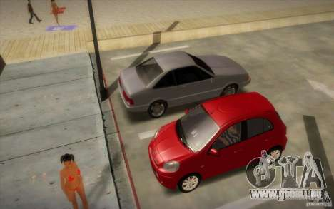 Nissan Micra 2011 für GTA San Andreas zurück linke Ansicht